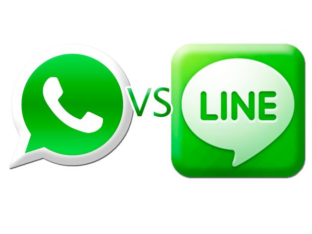 10 ventajas de Line frente a WhatsApp