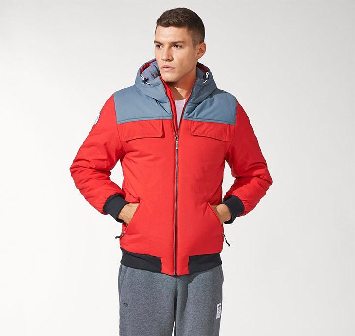Abrigo deportivo para adolescentes