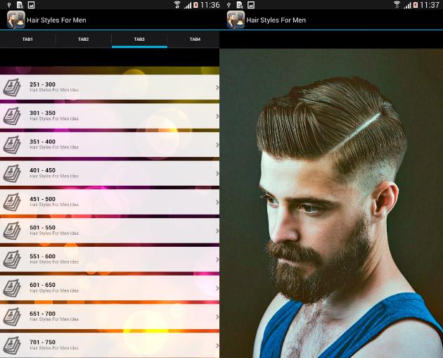 App Peinados Hombres