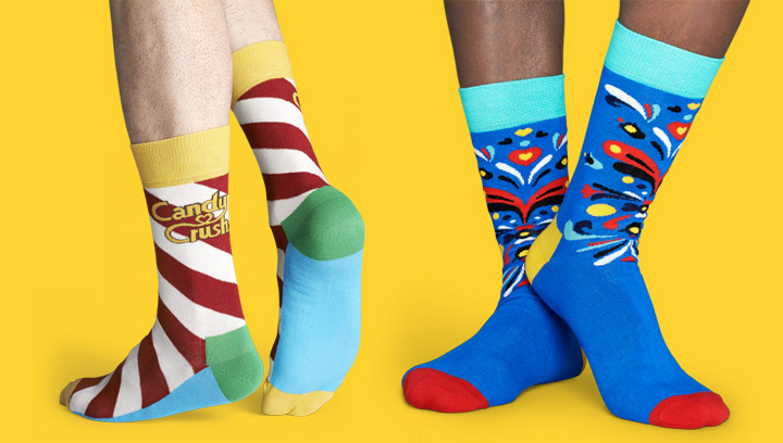 Calcetines de colores Happy Socks