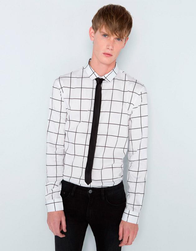 Camisa XMAS estampado geométrico
