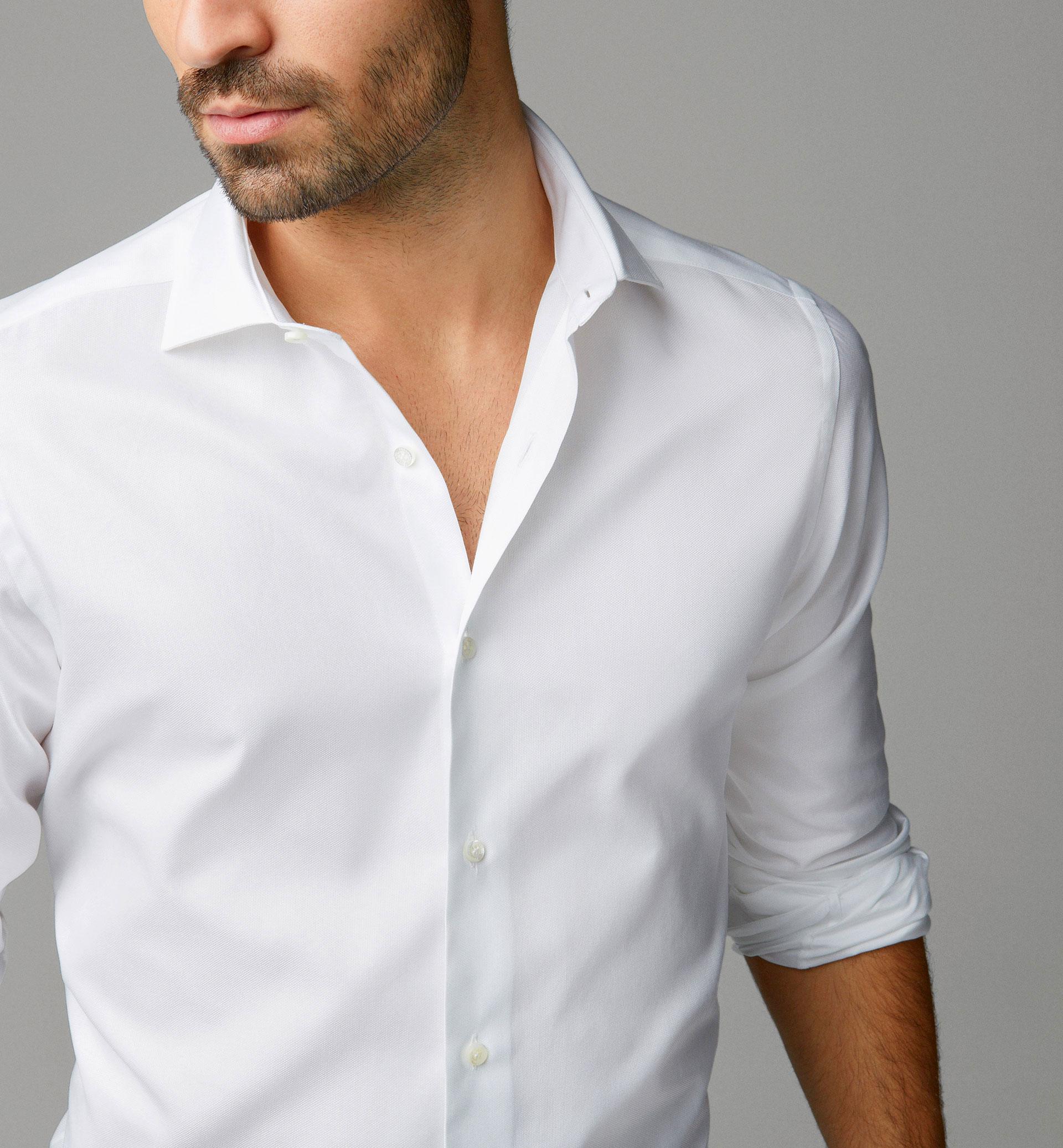 Camisa estructura Massimo Dutti