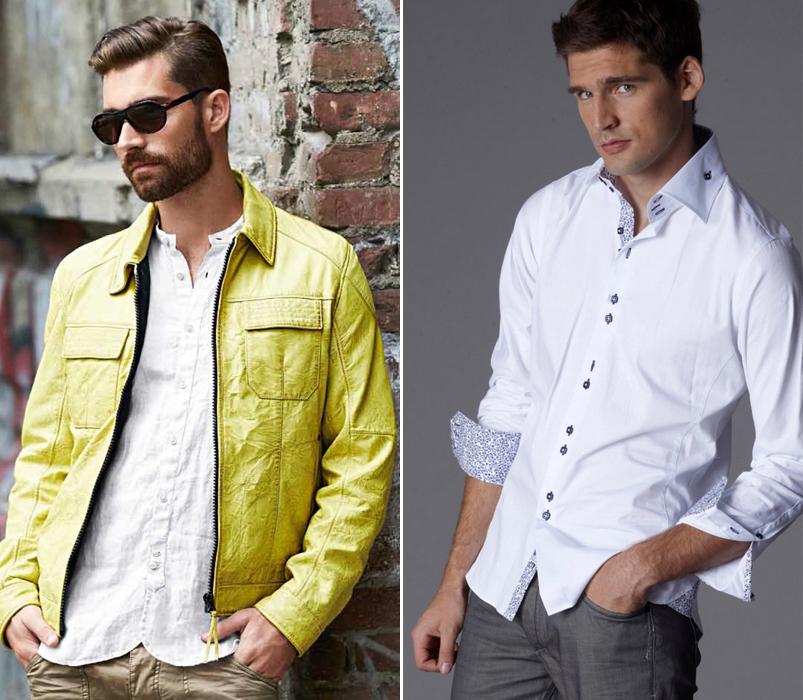 Camisas por fuera para un estilo casual