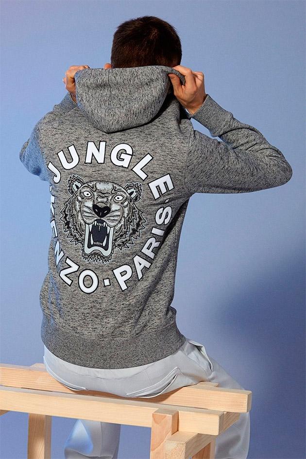 Colección de suéters Tiger de la mano de Kenzo