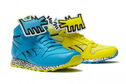 Color y personalidad con las Reebok diseñadas por Keith Haring