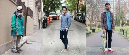 4 estilos para vestir como un skater