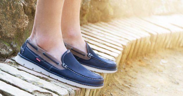 Guiá para vestir con zapatos naúticos