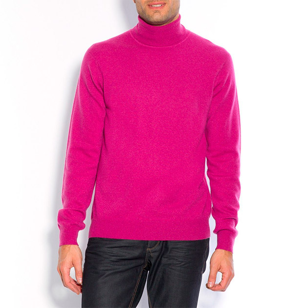 Jersey de pura lana cachemir