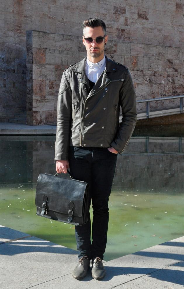 Guía para usar un bolso masculino
