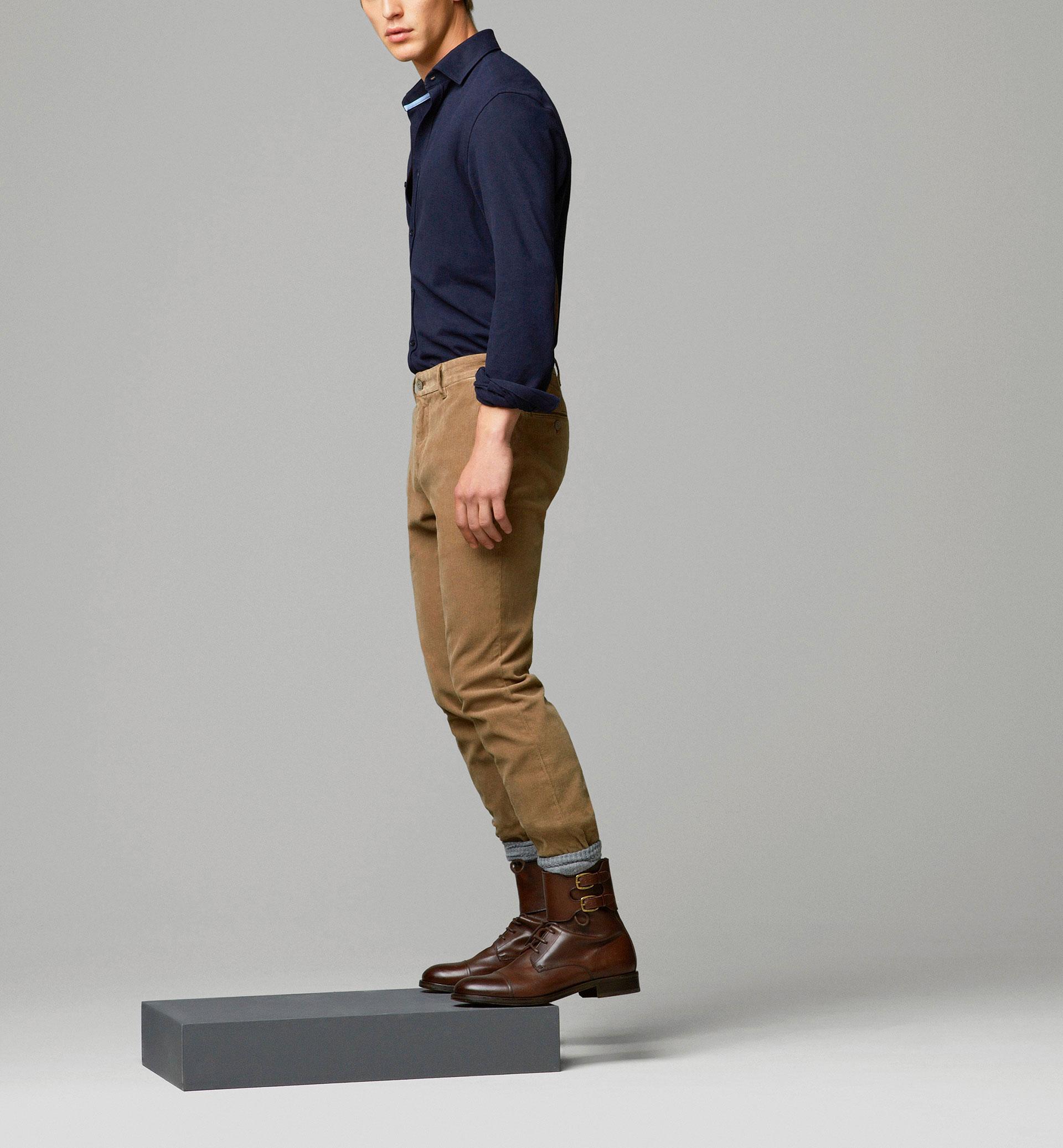 Pantalones chinos de pana Massimo Dutti