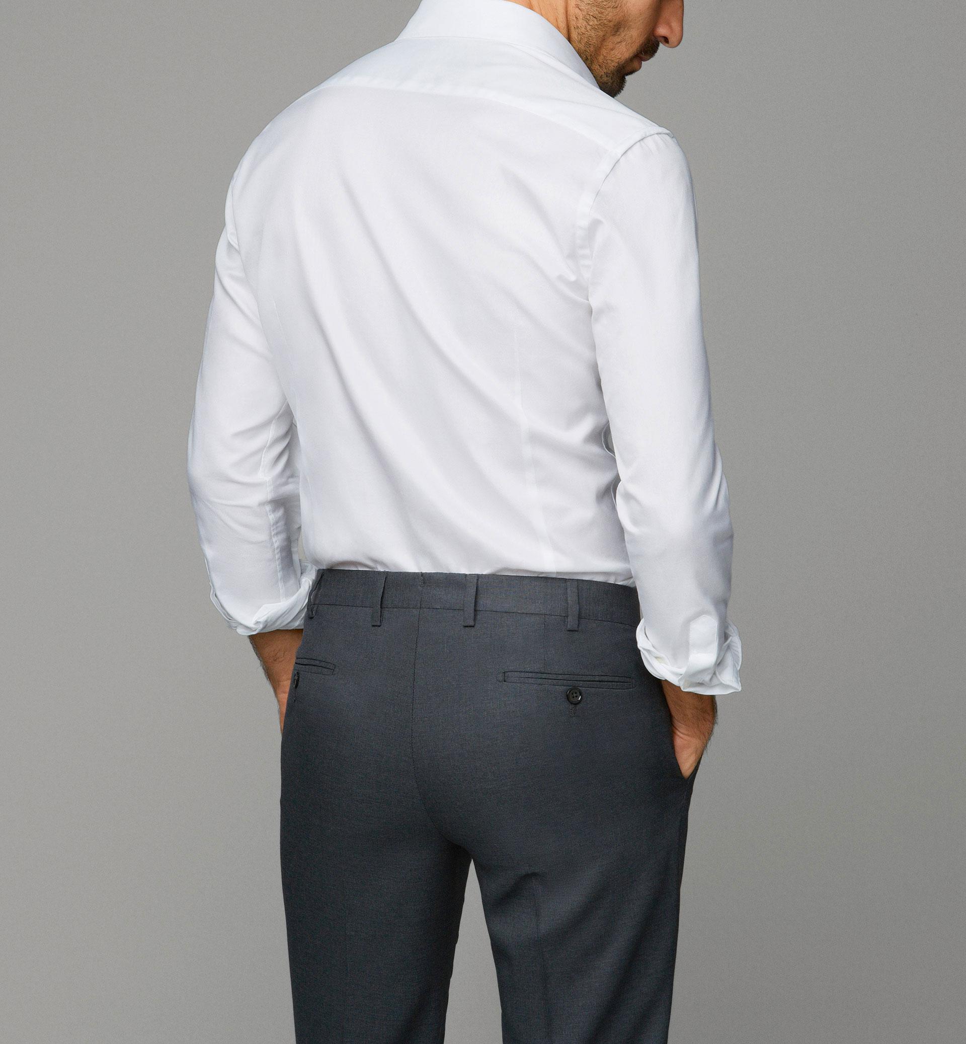 Pantalones de vestir grises
