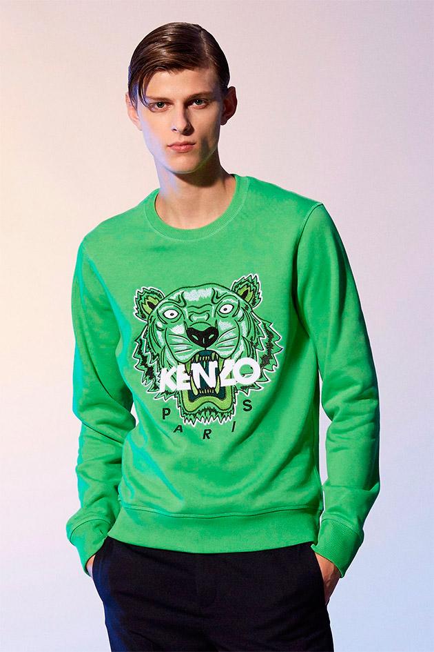 Suéter Tigre en verde