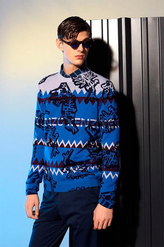 Suéter estampado