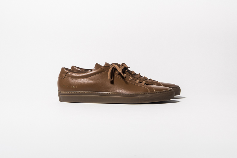 Zapatillas Common Projects marrones