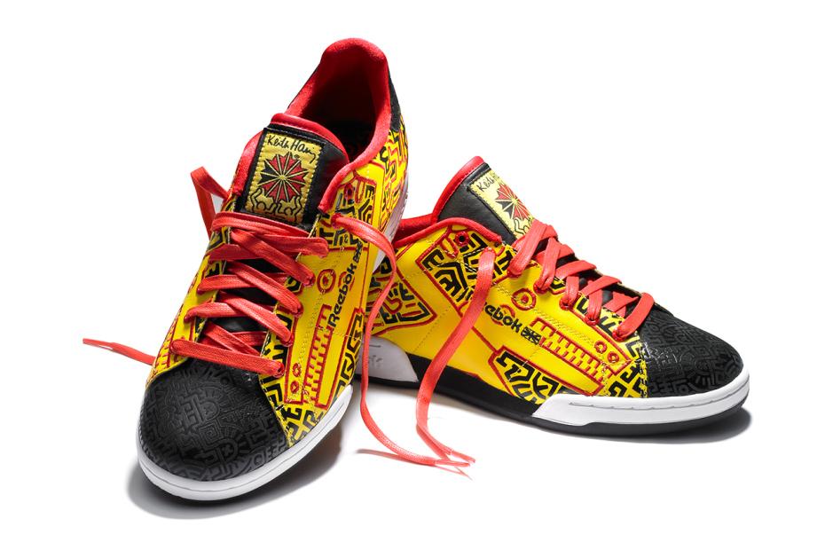 Zapatillas de Reebok de Keith Haring