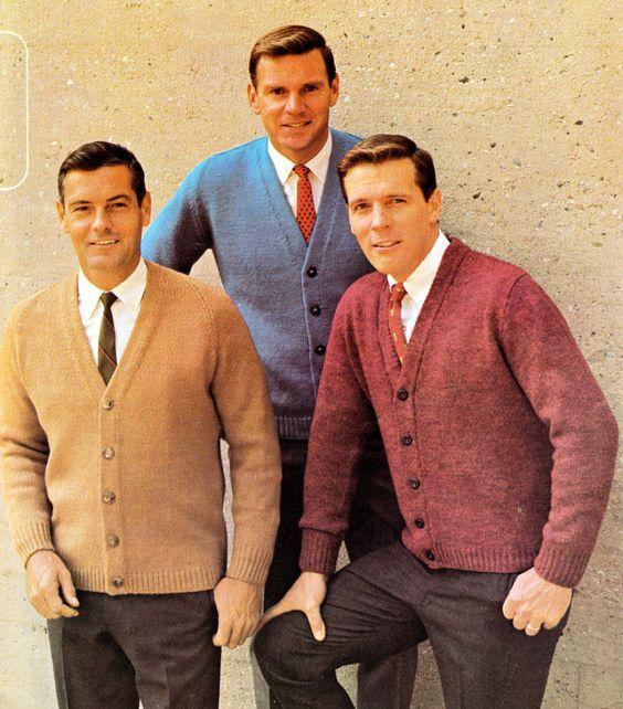 Evolución de la moda de hombre de los años 60
