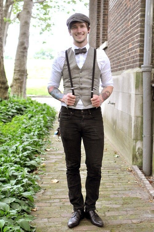 Looks formales masculinos