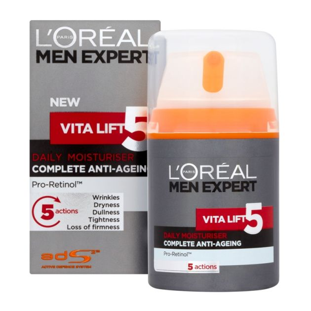 Vita Lift 5 Daily Moisturiser Anti-Ageing, L'oréal Men Expert