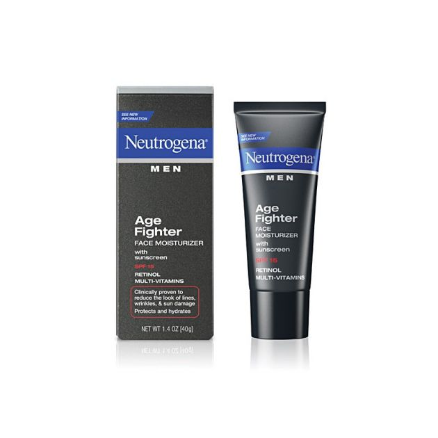 Age Fighter Face Moisturizer, Neutrogena Men