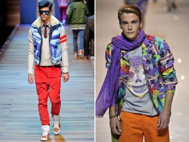 Moda de hombre de los años 80