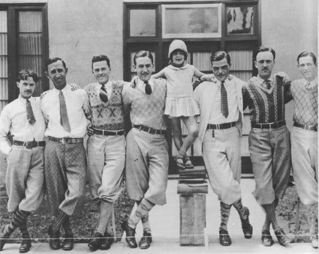 Moda de hombre de los años 20