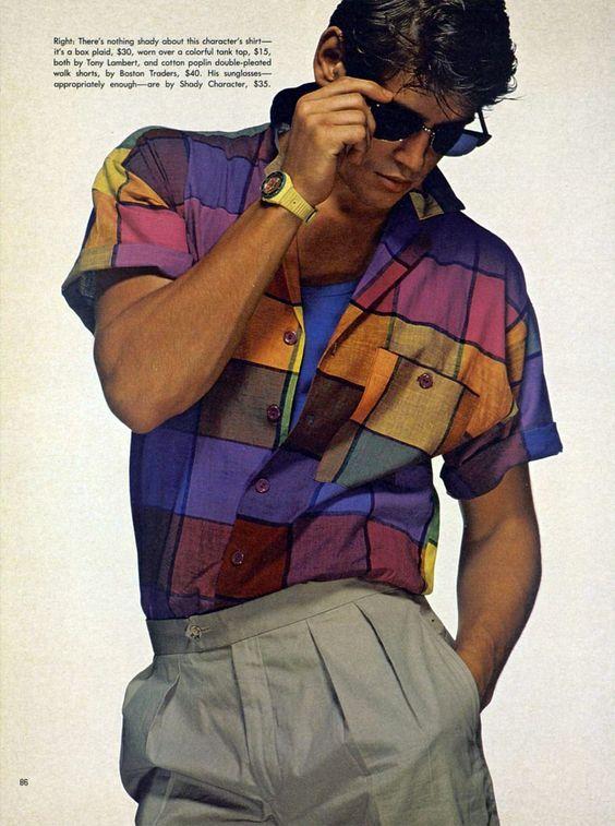 Moda De Hombre De Los Anos 80 Mentendencias Com