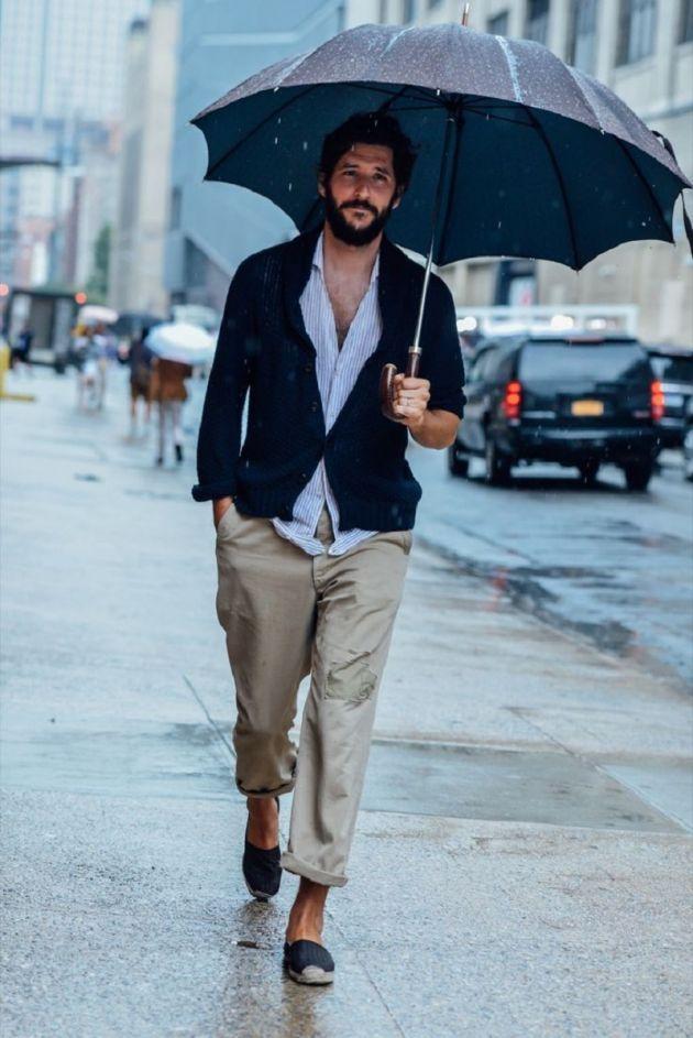 Outfit para días de lluvia