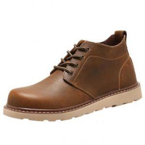 Zapatillas de vestir para hombre más cool estilo botín
